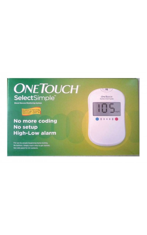 OneTouch Select Plus® meter. For patients who want a meter personalised to their needs. OneTouch Select Plus Flex® meter. For patients who want to quickly understand their results. OneTouch Verio® test strips. OneTouch Verio ® test strips - for accuracy you can rely on. OneTouch Select Plus® test strips. OneTouch Select Plus ® test strips - accuracy you can rely on. OneTouch® Delica.