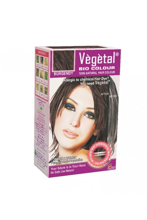 Vegetal Bio Hair Colour (Burgundy)