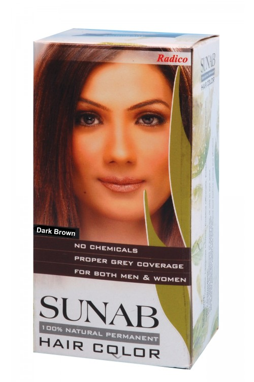 Sunab Herbal Hair Colour (Dark Brown)