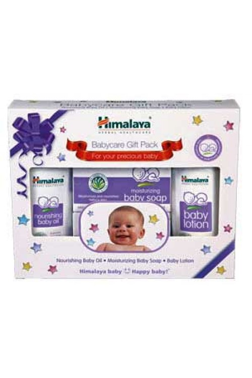 Babycare Gift Pack (Oil-Soap-Lotion) himalaya