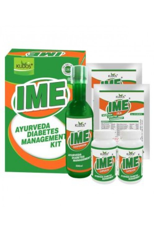 Ime ayurveda diabetes management kit kudos
